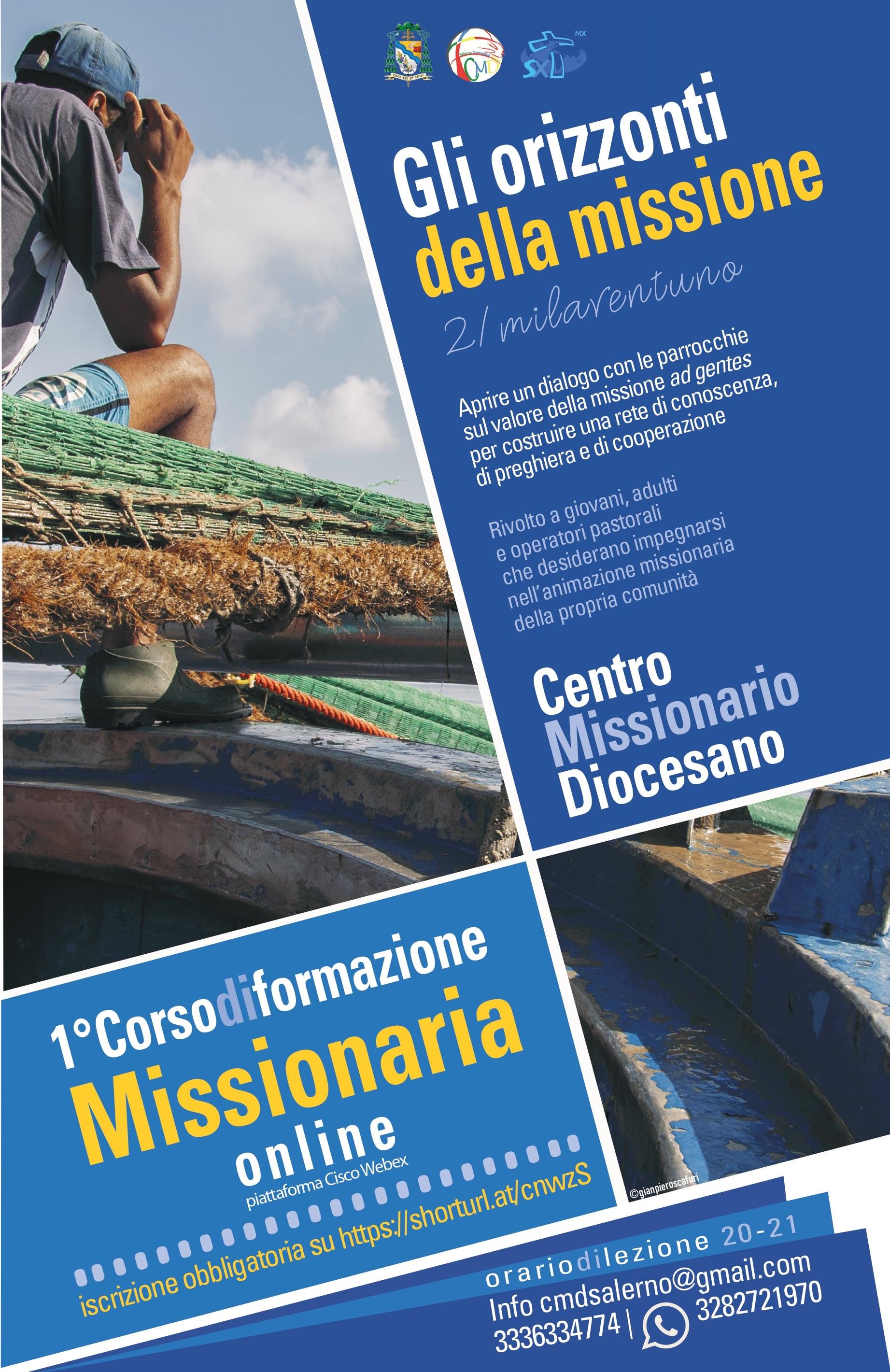 """Primo corso di formazione missionaria """"Gli orizzonti della missione"""""""