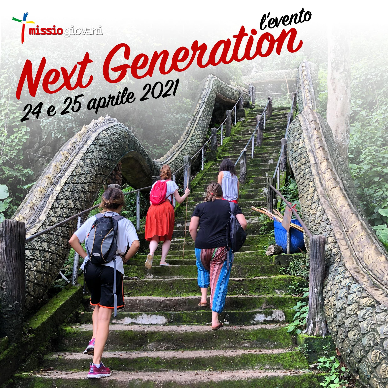Missio Giovani Next Generation – L'EVENTO